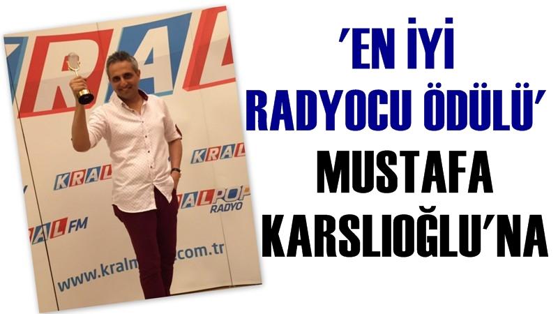 Mustafa Karslıoğlu 'En İyi Radyocu' Ödülünü Aldı