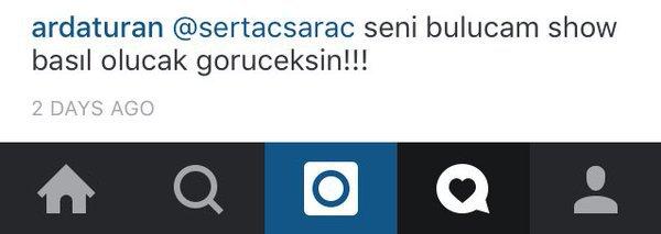 Arda Turan Instagram'da Bir Takipçisi Tehdit Etti
