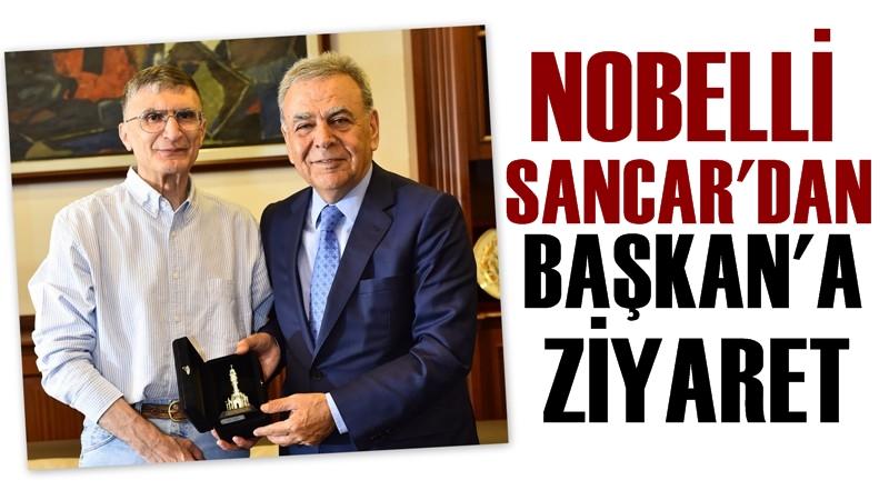 Aziz Sancar 'dan Başkan Kocaoğlu'na Ziyaret