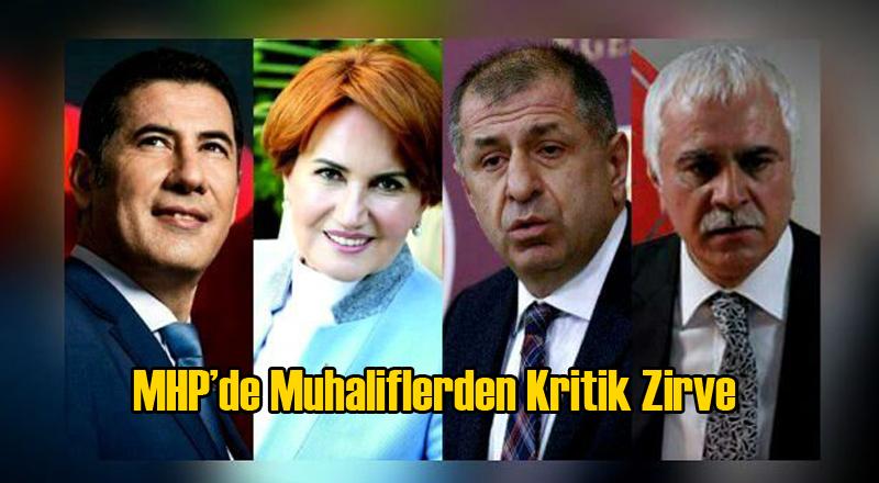 MHP'de Muhalifler Ortak Strateji Belirleyecek