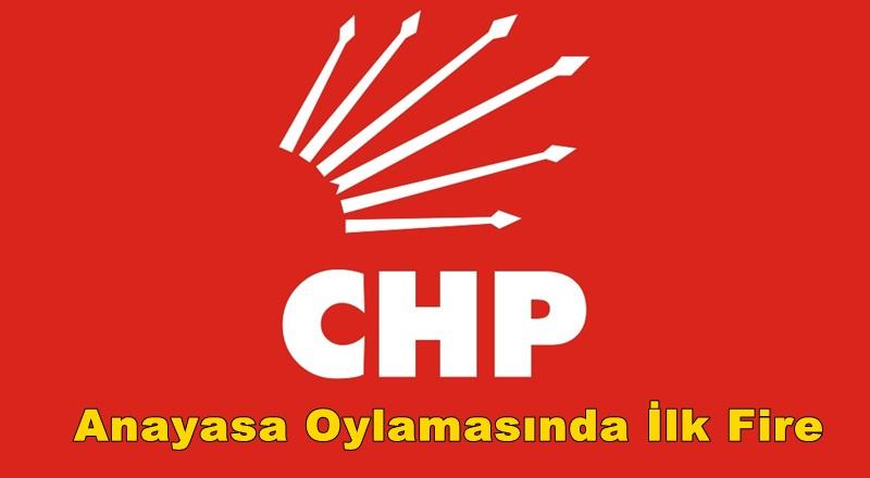 CHP'nin Dokunulmazlık Oylamasında İlk Firesi Belli Oldu