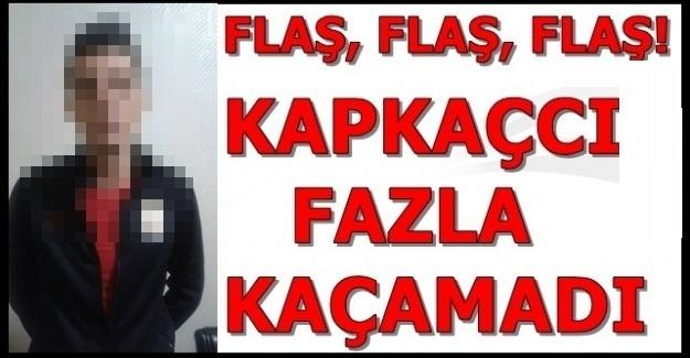 CEP TELEFONUNU KAPKAÇ YAPAN ZANLI POLİS TARAFINDAN YAKALANDI