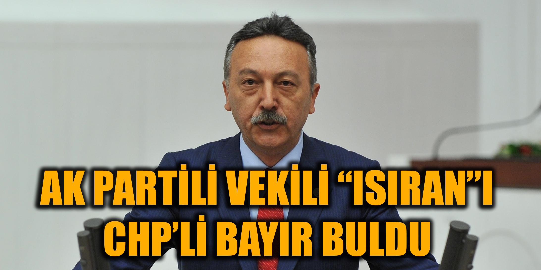"""AK Partili vekili """"ısıran""""ı CHP'li Bayır buldu"""