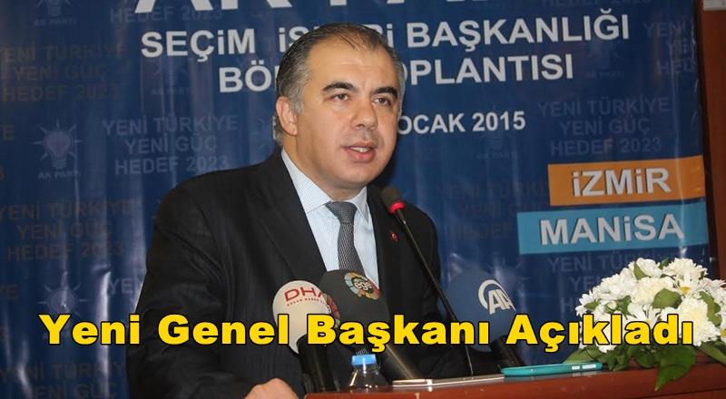 Bülent Delican Genel Başkanı Açıkladı