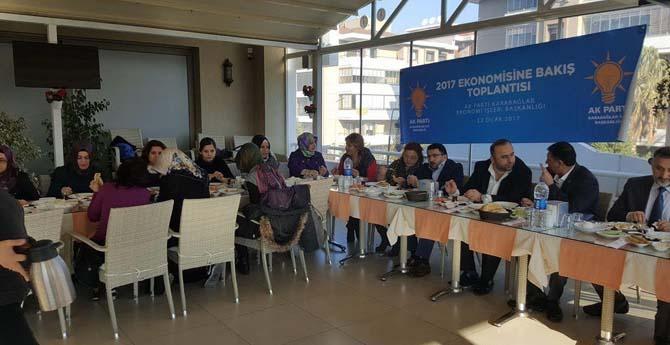 AK Parti Karabağlar'da Ekonomi Konuşuldu
