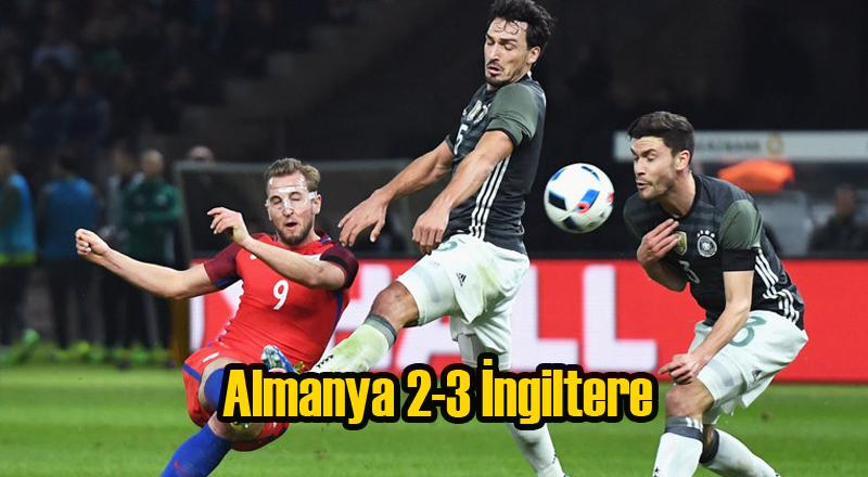 Almanya 2-0 Öne Geçtiği Maçta İngitere'ye 3-2 Yenildi