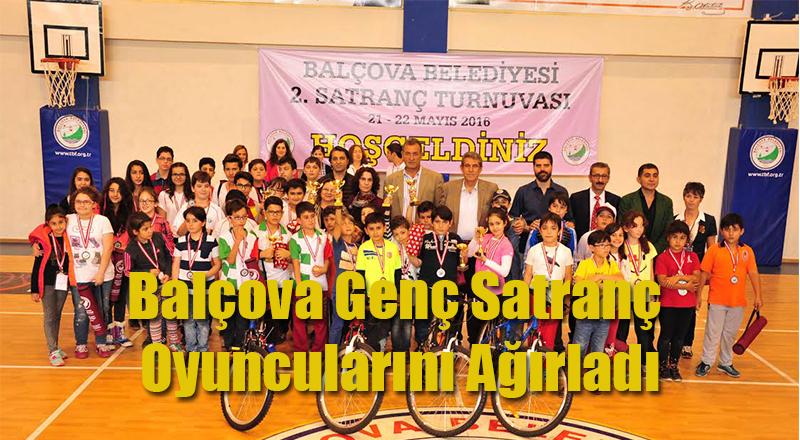 Balçova Genç Satranç Oyuncularını Ağırladı