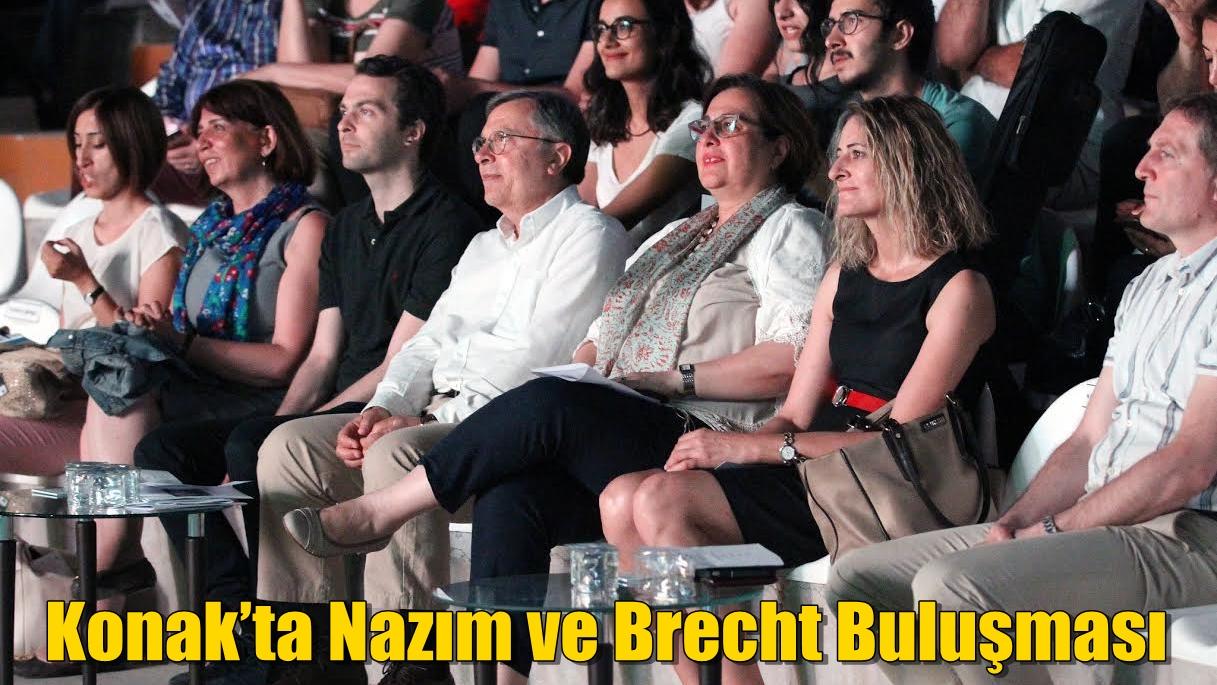 Konak'ta Nazım ve Brecht Buluşması