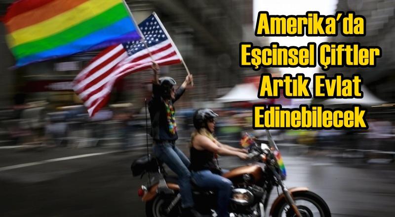 Amerika'da Eşcinsel Çiftler Artık Evlat Edinebilecek