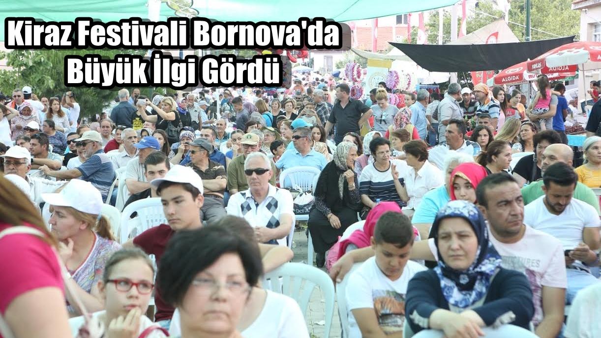 Kiraz Festivali Bornova'da Büyük İlgi Gördü