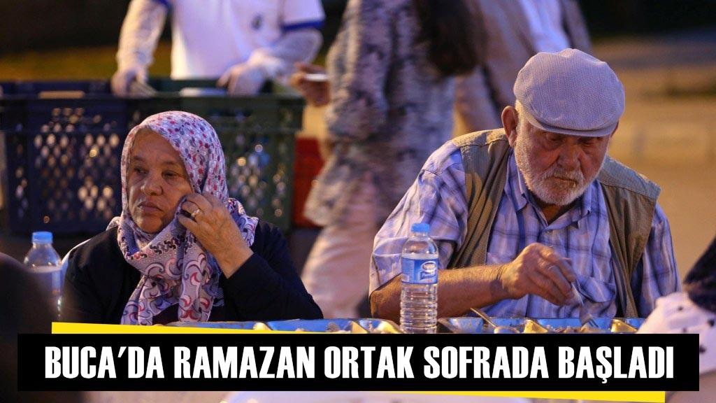 Buca'da Ramazan Ortak Sofrada Başladı