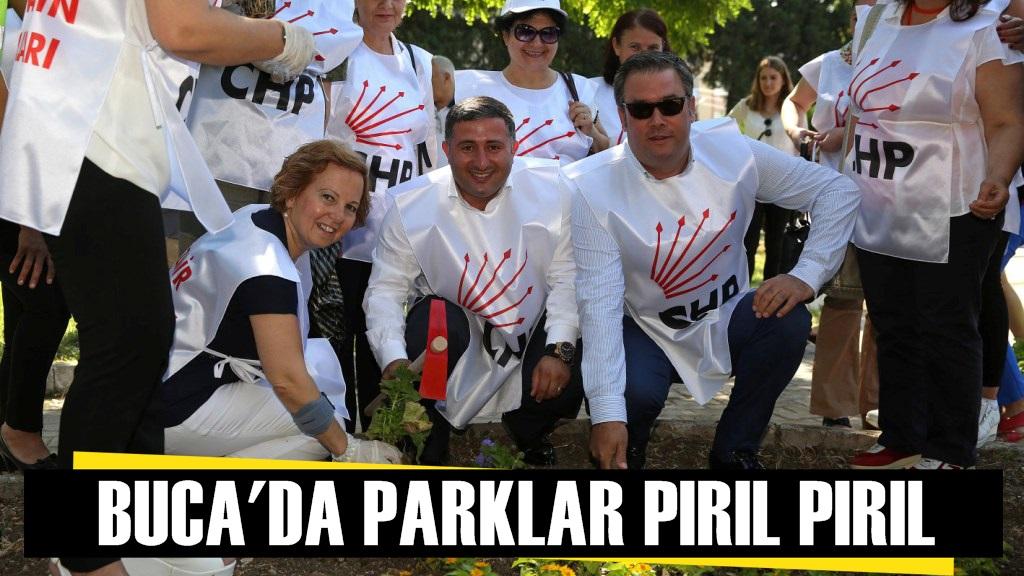 Buca Belediyesi, CHP Kadın Kolları El Ele, Temizliğe
