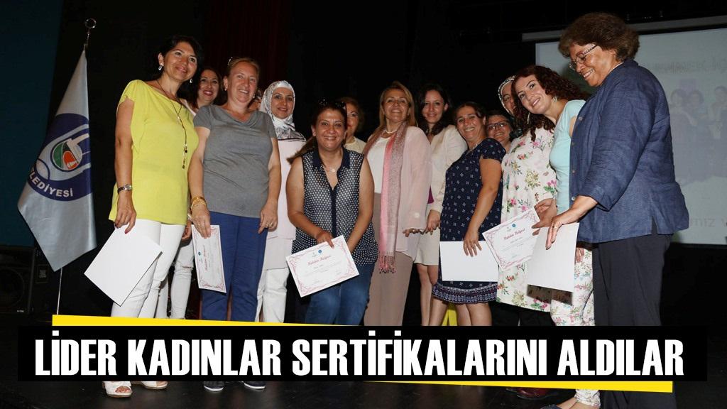 Urlalı Lider Kadınlar Artık Sertifikalı