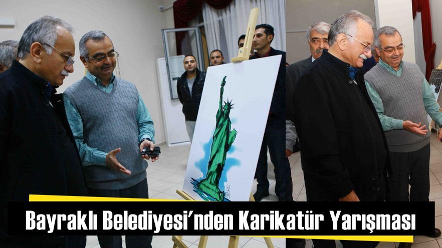 Bayraklı Belediyesi'nden Karikatür Yarışması