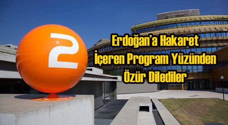 Alman Kanalı ZDF Özür Diledi