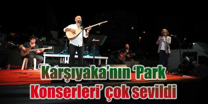 Karşıyaka'nın 'Park Konserleri' çok sevildi