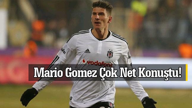 Büyük Derbi Öncesi Mario Gomez'den İddialı Açıklamalar