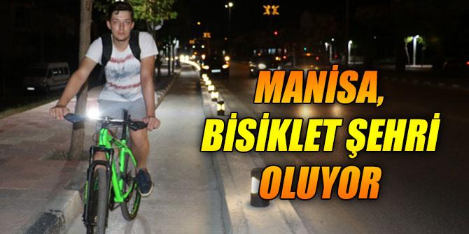 Manisa, bisiklet şehri oluyor