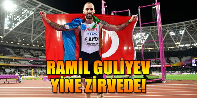 Ramil Guliyev yine birinci oldu!