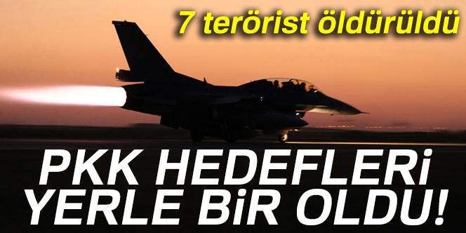 harekatı: 7 terörist öldürüldü