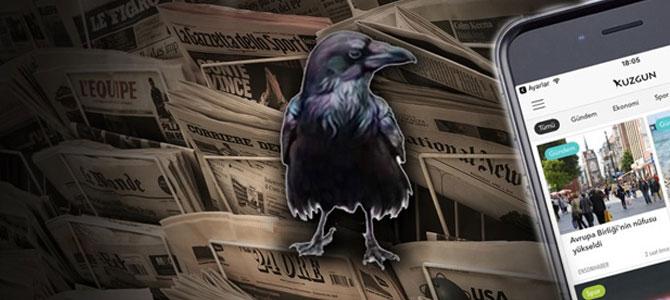 Kuzgun tüm haberleri cebinize getiriyor