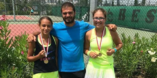 KTK'lı tenisçilerden büyük başarı