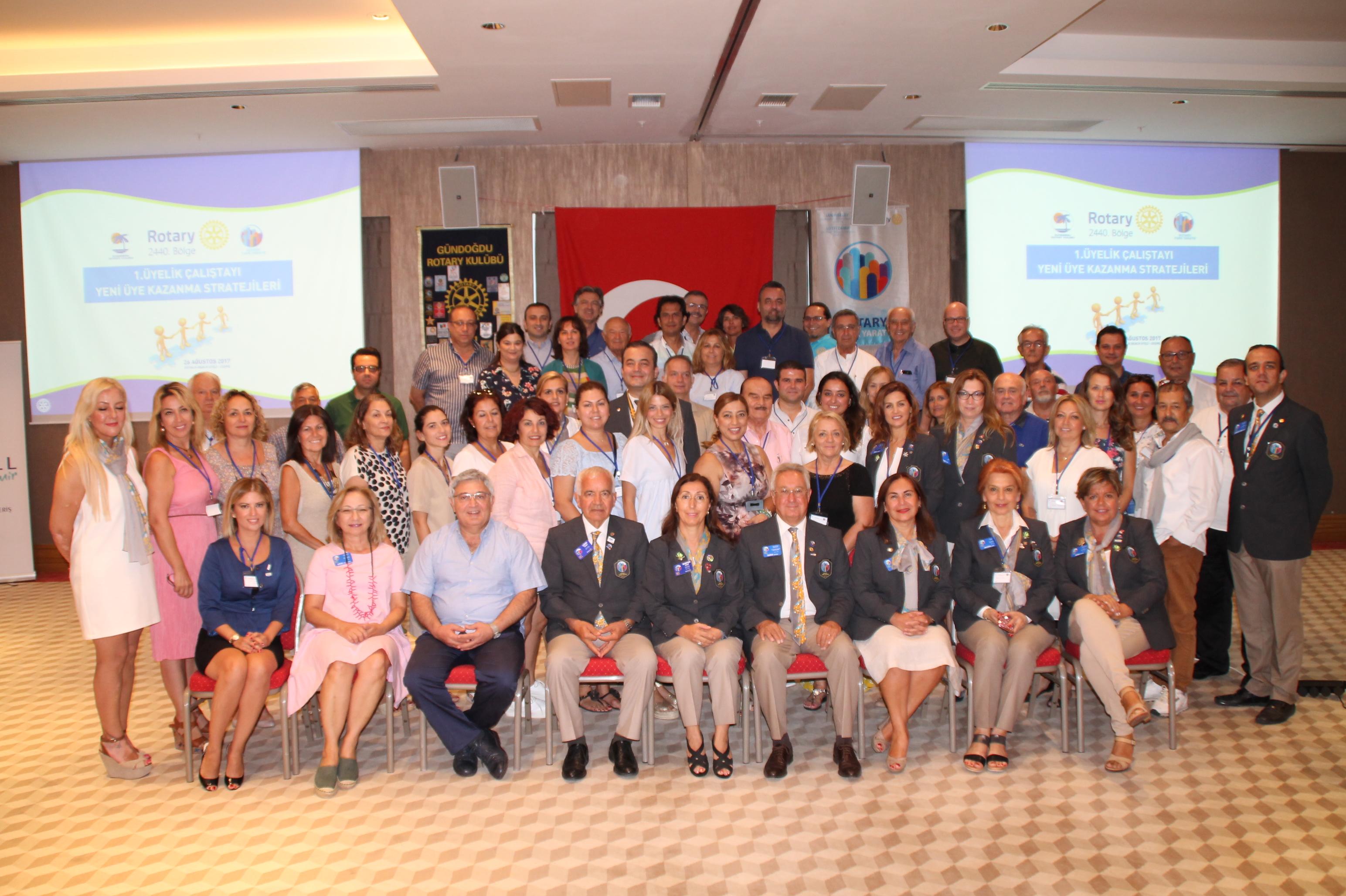 Rotary'de Hedef Kadın Üyelerle Büyümek