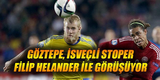 Göztepe, İsveçli stoper Filip Helander ile görüşüyor