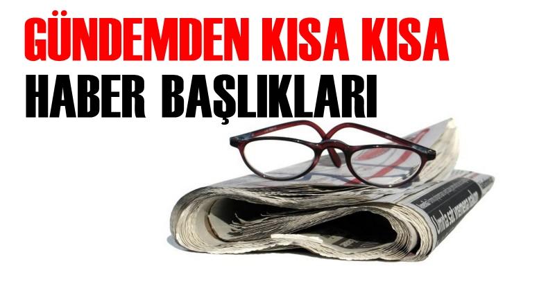31 Ağustos Perşembe Türkiye gündemi