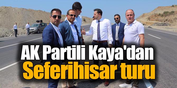 AK Partili Kaya'dan Seferihisar turu