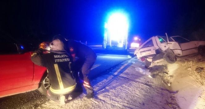 Elazığ Karayolunda kaza: 8 yaralı