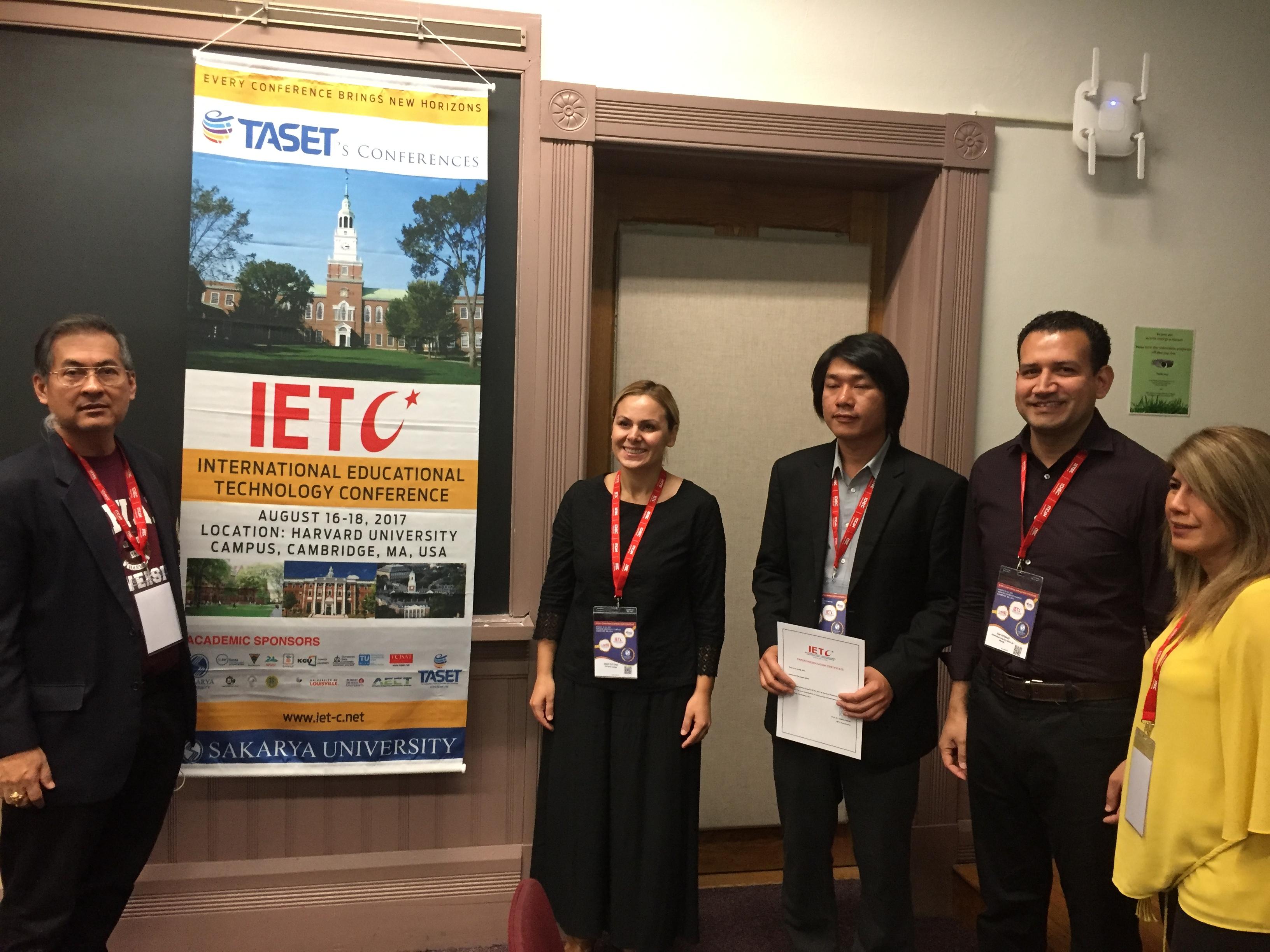 TED, Harvard'da  ICT ile eğitim ilişkisini anlattı
