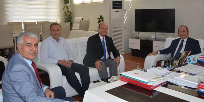CHP'li Hamzaçebi'den Başkan Özakcan'a ziyaret