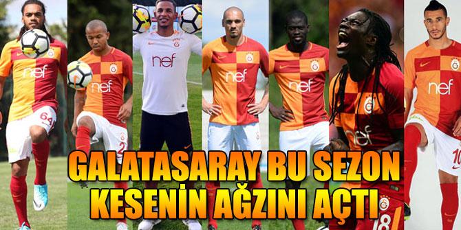 Galatasaray bu sezon kesenin ağzını açtı