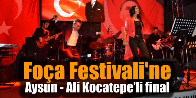 Foça Festivali'ne Aysun - Ali Kocatepe'li final