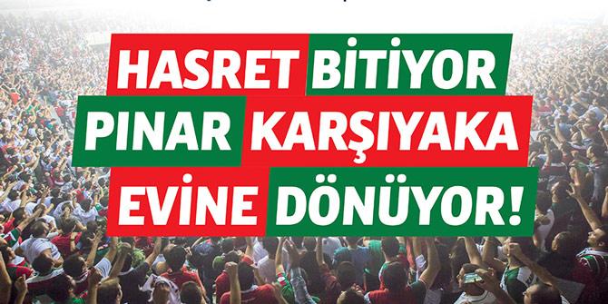 Hasret bitiyor, Pınar Karşıyaka evine dönüyor