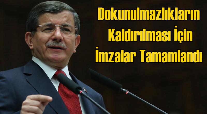 Ahmet Davutoğlu: Kazdıkları Hendeklere Kendiler Düştüler