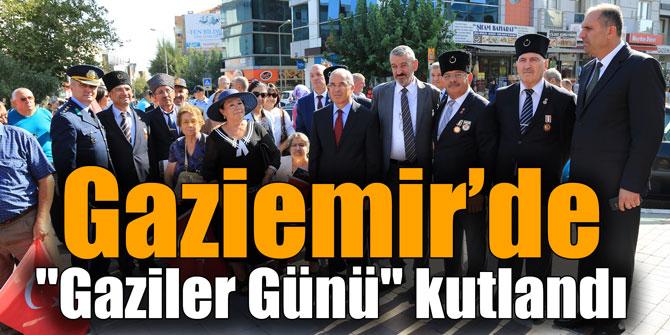 """Gaziemir'de """"Gaziler Günü"""" kutlandı"""