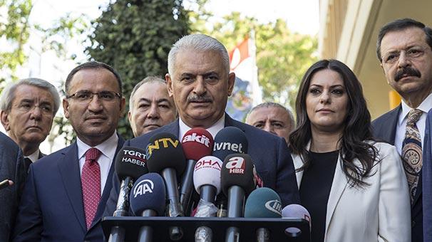 Başbakan Yıldırım'dan Barzani'ye flaş çağrı