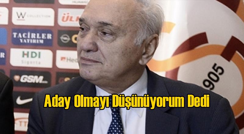 Galatasaray'ın İlk Başkan Adayı Hamdi Yasaman