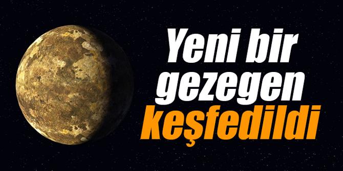 NASA duyurdu... Yeni bir gezegen keşfedildi