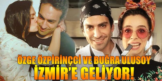 Özge Özpirinçci ve Buğra Ulusoy Acı Tatlı Ekşi için İzmir'e Geliyor!