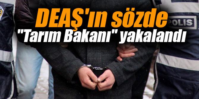 """DEAŞ'ın sözde """"Tarım Bakanı"""" yakalandı"""
