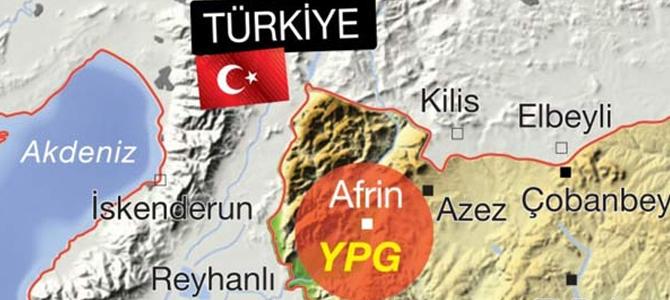 Türk Silahlı Kuvvetleri, Afrin kuşatması için hazır!