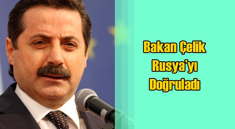 Faruk Çelik Rusya'ya Gidecek Türk Heyetini Onayladı