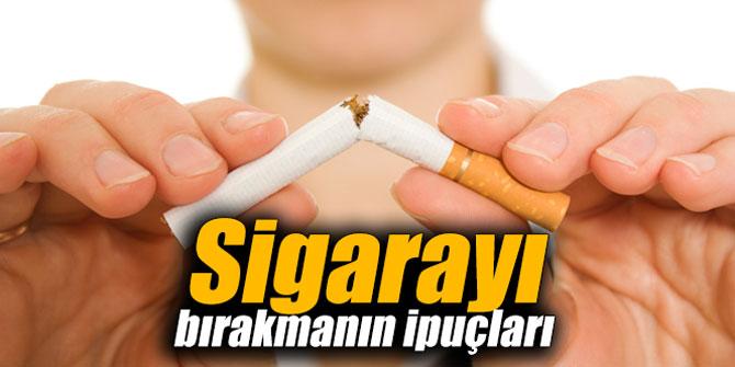 Sigarayı bırakmanın ipuçları