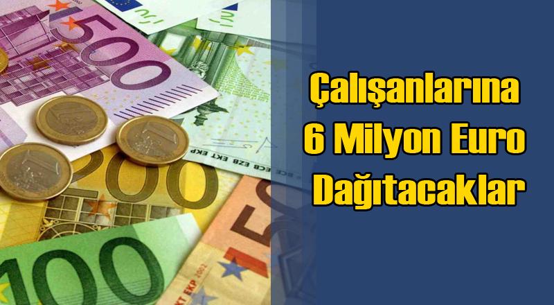 İsveç'te Bir Şirket Çalışanlarına 6 Milyon Euro Dağıtacak