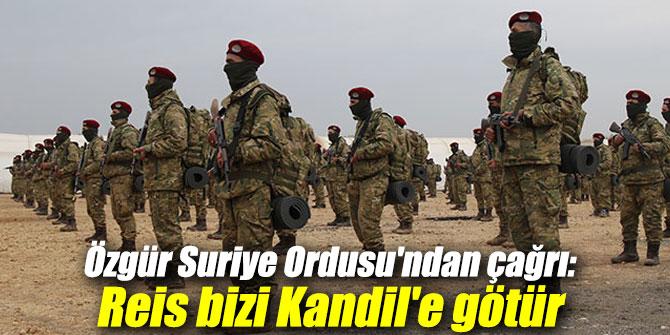Özgür Suriye Ordusu'ndan çağrı: Reis bizi Kandil'e götür