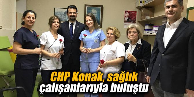 CHP Konak, sağlık çalışanlarıyla buluştu