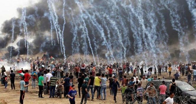 Gazze'de saldırılar şiddetlendi: Şehit sayısı 61...